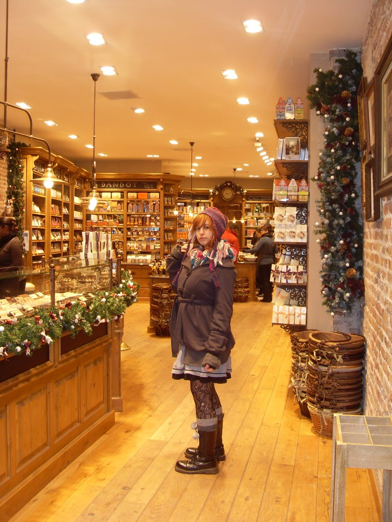 Chocolate shops in Bruges
