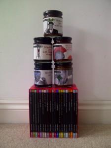 Books and jam