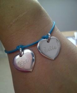 """personalised charm bracelet"""