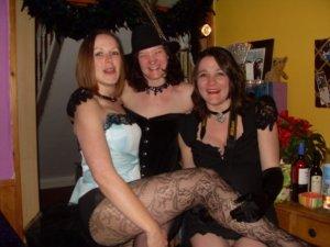 Burlesque fancy dres