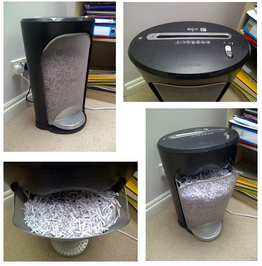 """Fellowes shredder"""