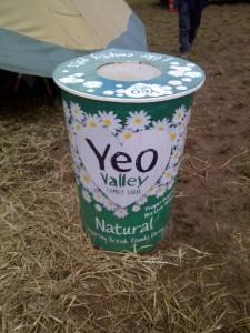 """""""Yeo Valley yogurt"""""""
