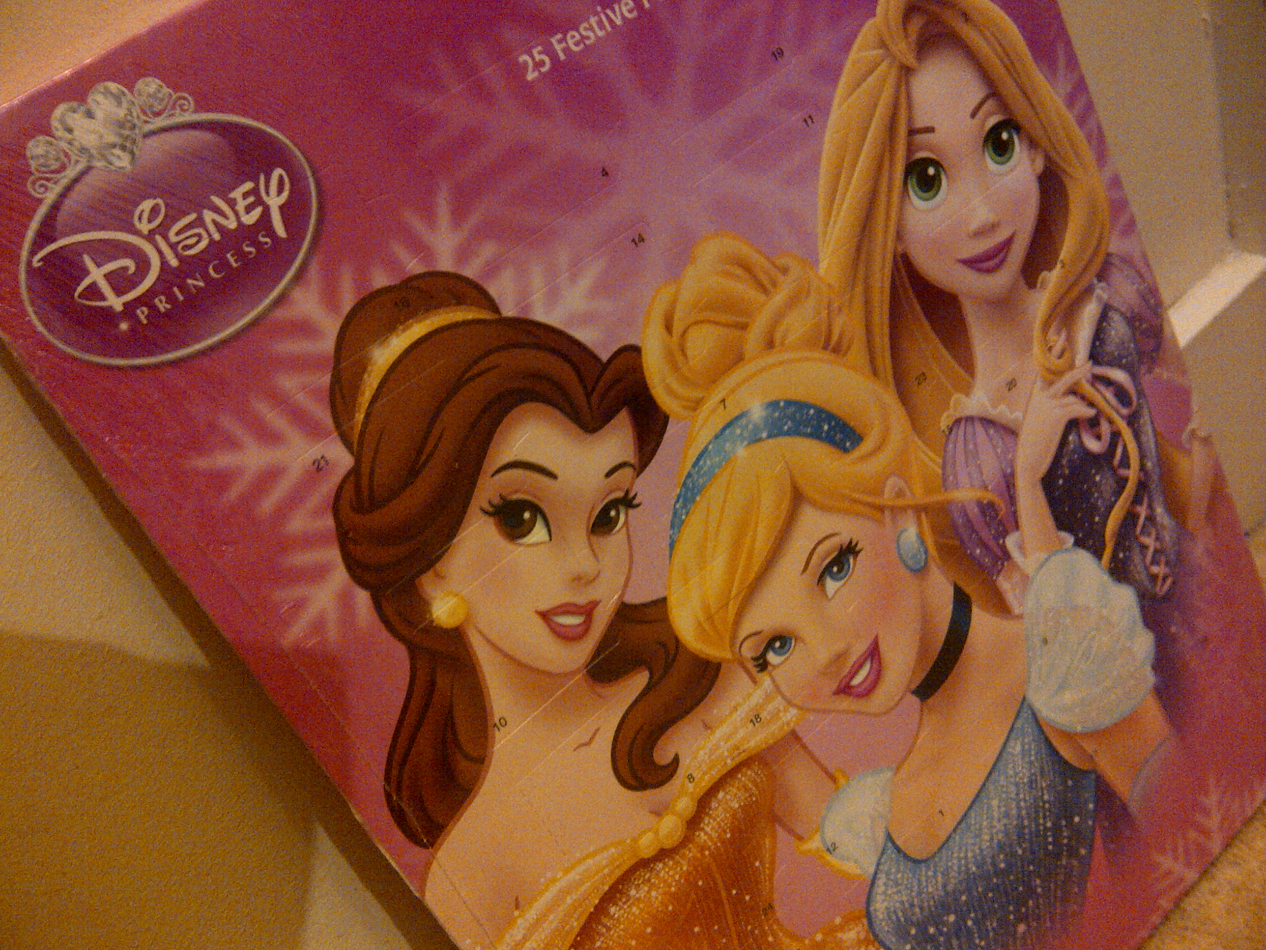 """Disney Princess advent calendar"""