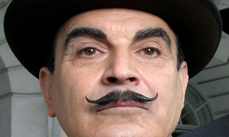 """David Suchet as Hercule Poirot"""