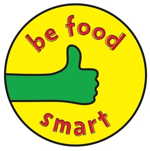 """Be food smart"""