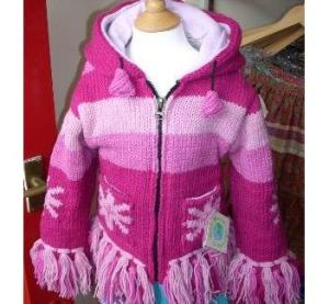 """Fairtrade funky pink jacket"""