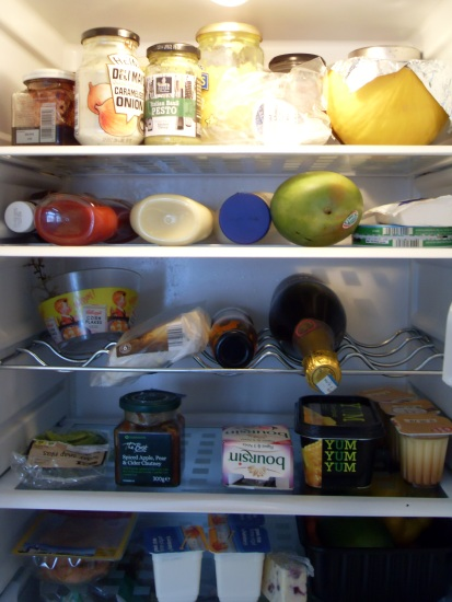 """Inside my fridge"""